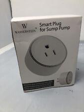 Smart Plug w/ High Water Level Sensor for Sump Pump Alarm App Notif Plug & Play