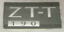 MG ZT-T 190 REAR BADGE, SATIN FINISH (DAT000150MVR)