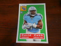 2015 Topps Heritage Football 5X7 RC Rookie #/99 David Cobb Tennessee Titans