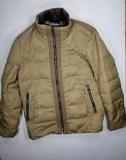 Barabas Winter Jacket Sz XL Lined Windbreaker Zip Up Outdoors Brown Men's