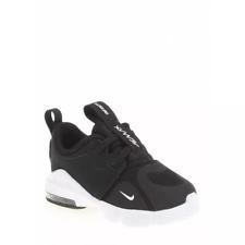 Zapatos Nike Air Max Niño BQ5310 001 Infinity Ps Negro Blanco Originales Nuevos