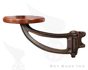 The Get Back Original Swing Out Seat - Black Hardware with Alder Seat