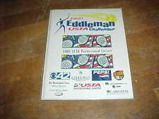 2001 The Eddleman Pro Tennis Classic Tennis Program Brook Highland Racquet Club