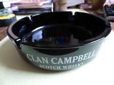 cendrier   clan campbell - scotch whisky - grand modèle