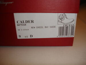 SALVATORE FERRAGAMO CALDER Mens BOOTS SHOES BRAND NEW 9.5