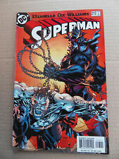 Superman  213.  Jim Lee - DC  2005 -   VF - minus