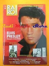 rivista RARO 158/2004 Presley Iron Butterfly Massimo Bubola Ivan Graziani No cd