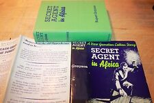 Secret Agent in Africa Rupert Grayson Dutton 1939 First Edition HC dust jacket