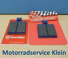 ORIGINAL BREMBO Plaquette de freins Kit arrière pour APRILIA RS 125 1992 - 2005