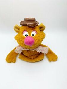"Fozzie Bear Muppet Fisher Price 861 Hand Puppet 10"" Jim Henson Toy 1976 Vintage"