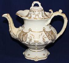 Antique Rockingham Tea Pot, Original, in beautiful condition.Rare. Rococo