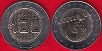"""Algeria 100 dinars 2019 """"Satellite"""" BiMetallic UNC"""