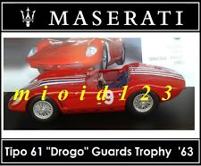 1/43 - Maserati 100 Years Collection : TIPO 61 Birdcage Drogo #9 '63 - Die-cast