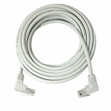 5m 15ft Right Angle 90 Degree Cat5e Utp Lan Cable 10/100 Ethernet Patch cat5 NEW