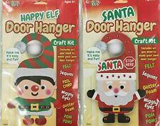 Kreative Kids Craft Fun Make Your Own Christmas Door Hanger Decoration Santa Elf