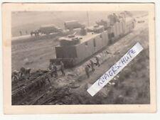 Foto Panzerzug Soldaten Geschützturm LKW Technik 2 Wk IIWW ! (F2072