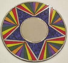 Handmade Round Mosaic Decorative Mirrors