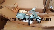 VESPA MOTORRAD tin toy tinplate car blechmodell auto voiture tole latta