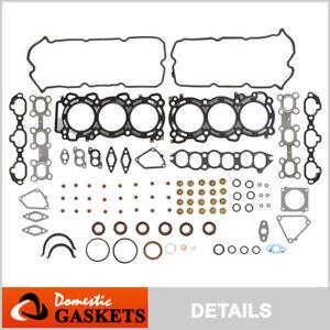 Fits 95-99 Nissan Maxima Infiniti I30 3.0L DOHC Full Gasket Set VQ30DE