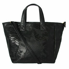 fbc4e87888 Petit sac cabas en cuir de vachette CALICIA femme noir