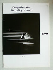 Prospekt Saab Programm 1990: 900, 9000, 1988, 26 Seiten, englisch für Canada