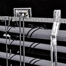 Aluminium Jalousie Alu Lamellen Rollo Jalousette Fensterrollo Türrollo Black