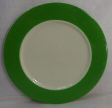 PAGNOSSIN china PGN15 GREEN pattern CHOP PLATE Round Platter 12-1/4""