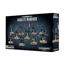 Dark Eldar Drukhari Kabalite Warriors