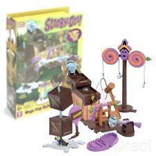 Nouveau Scooby Doo Fred's Mega Piège Kit de Construction & Monstre Figurine