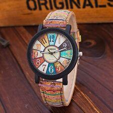 New Fashion Casual Relogio Feminino Vintage Leather Quartz Wrist Watch