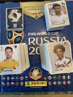 Panini Fifa World Cup Russia 2018 stickers - loose singles - in great condition