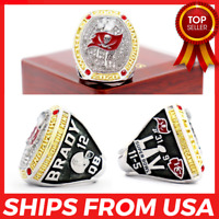 FROM USA - Tampa Bay Buccaneers 2021 Ring Super Bowl LV Championship 2020 BRADY