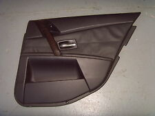 BMW 5 SERIES E60 LEATHER DOOR CARD O/S/R (RIGHT, REAR)