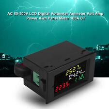 AC 80-300V 100A Voltmetro Amperometro Digitale MISURATORE Consumo Volt Amp Kwh