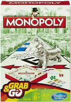 HASBRO GRAB & GO GAMES CLUEDO, CONNECT 4, GUESS WHO, HUNGRY HIPPO'S. MONOPOLY