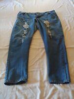 Women's Size 22 Dark Blue WAX Jeans Style #90002XL