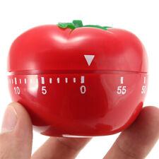 60 Minutes Food Baking Kitchen Cooking Countdown Timer Alarm Mechanical Tomato