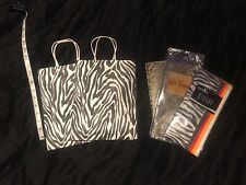 Animal Print Gift Set Packaging Giftbag Tissue Paper Zebra Leopard