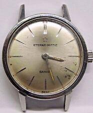 Vintage Lds Eterna Matic Stainless Steel Wrist Watch