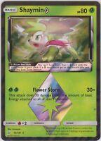 Pokemon TCG SM Team Up 10/181 Shaymin Prism Star Rare Card