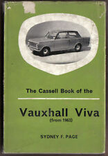 Vauxhall Viva (HA) from 1963 Handbook for owner/driver by S Page Cassell 1965