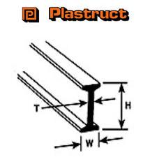 Plastruct bfs-10 confezione da 4 x i travi PLASTICA MODANATURA 4 x 7.9 x 600mm