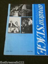 AMATEUR STAGE - JUNE 1987
