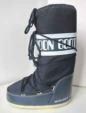 Tecnica Moon Boot Nylon JEANS BLU TG. 39 - 41 Moon Boots Moonboots Denim Blue