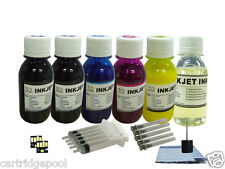 For Kodak 10 ESP 9 9250 Office 6150 printer refill pigment ink 6x4oz/s +2 chips