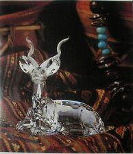 SWAROVSKI SILVER CRYSTAL 1994 ANNUAL ED THE KUDU INSPIRATION AFRICA 175703