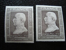 FRANCE - timbre - yvert et tellier n° 602 n* et n** (A8) stamp french