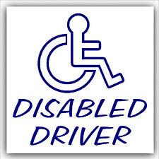 Disabilitato driver-car, Van sticker-disability per scooter con logo segno Outline