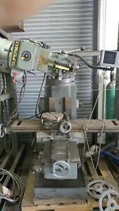 supermax ycm-16vs milling machine