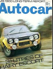 Autocar Magazine March 27 1969 Escort MG 1300 VG No ML 040417nonjhe